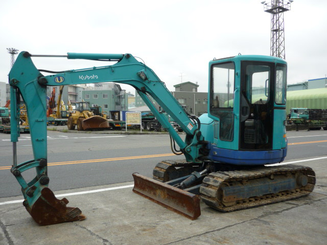 USED MINI EXCAVATOR KUBOTA U-45 10915 (F.UCHIYAMA & CO.,LTD.)