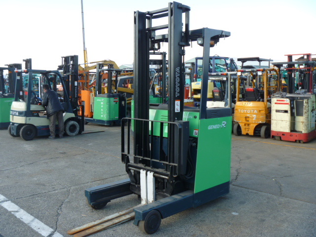 Used Battery Reach Forklift Toyota 7fbr15 24290 F