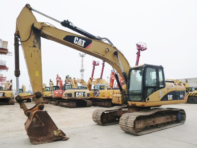 USED EXCAVATOR CAT 320D BWZ02846 (F UCHIYAMA & CO ,LTD )