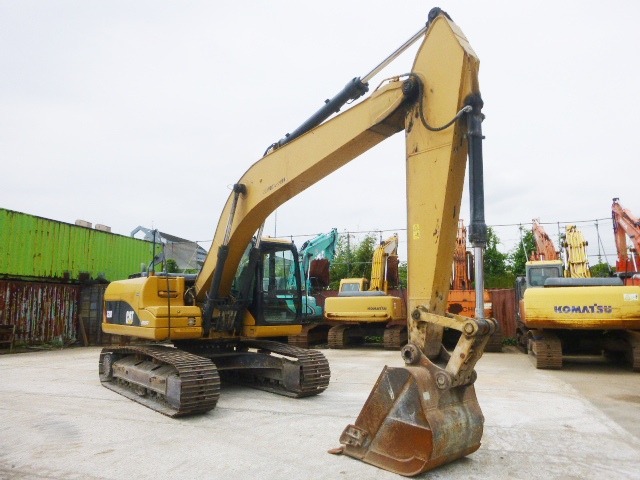 USED EXCAVATOR CAT 320D BWZ05858 (F UCHIYAMA & CO ,LTD )